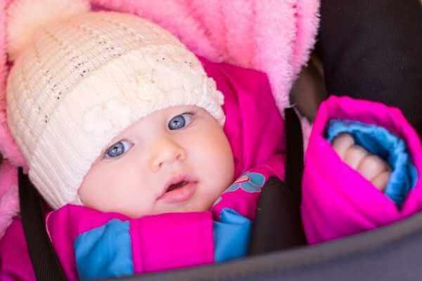 Newborn eye color